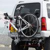 【販売終了】ジムニーJB23・リアFRPバンパー装着車用 サイクルキャリアセット(THULE Xpress 970)